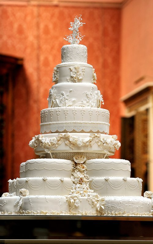 The Wedding Cake Prince William And Kate Middleton